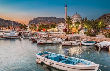 Bozburun Peninsula Turkey