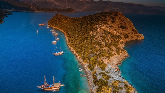 Island of St. Nicholas in Turkey