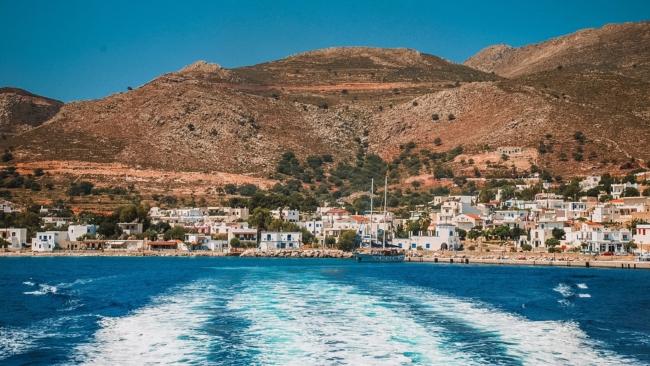 Livadia Harbour, Tilos Island